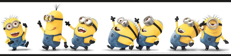 Despicable Me Kids Room Wallpaper