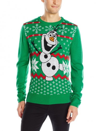 Disney Men's Olaf Sweater
