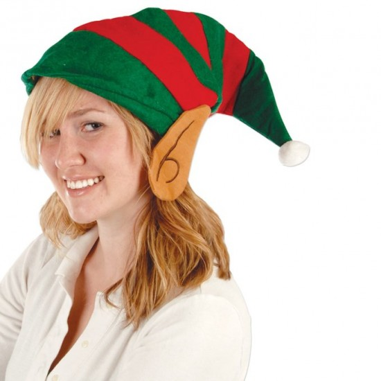 Christmas Elf Felt Hat With Ears