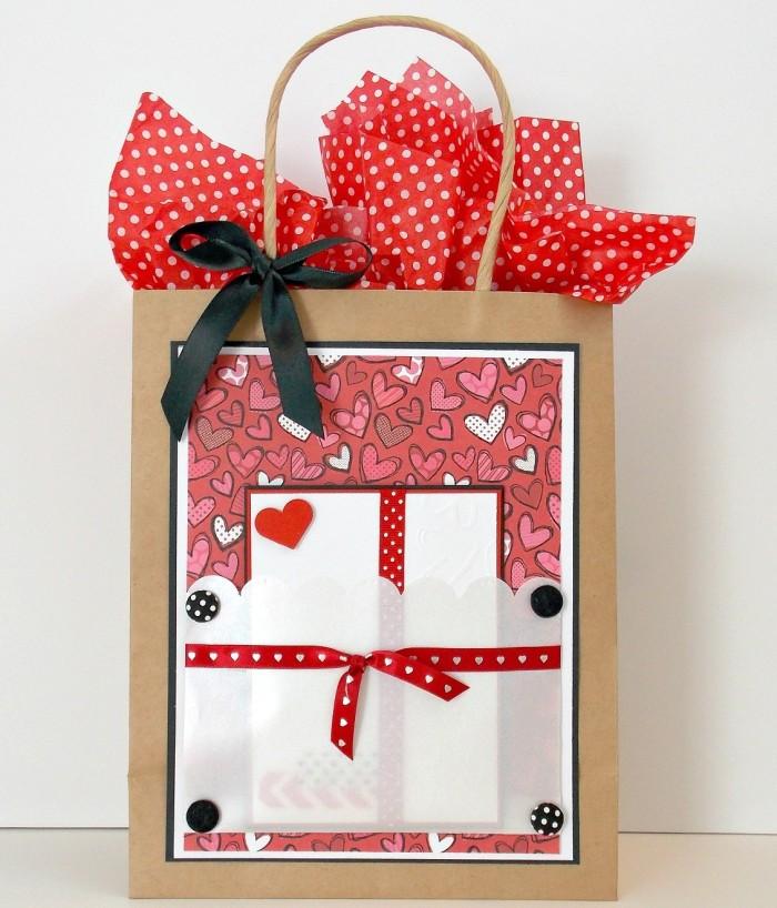 Gift Bag with Card Pocket