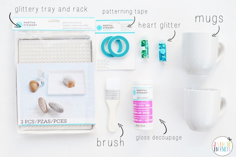 Glitter Mug Material