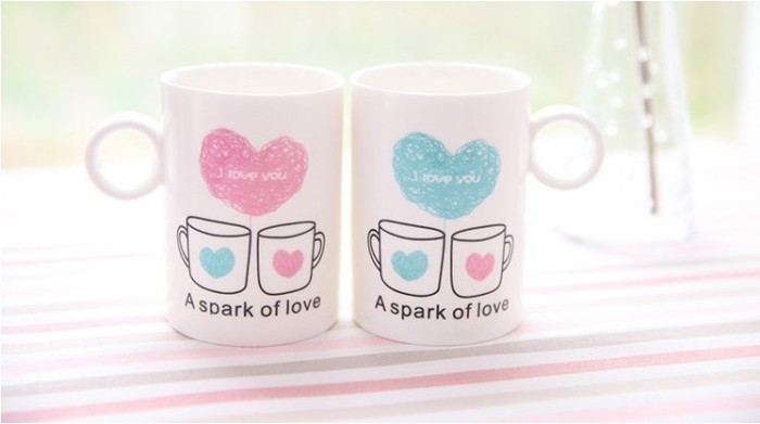 I Love You Couple Coffee Mugs