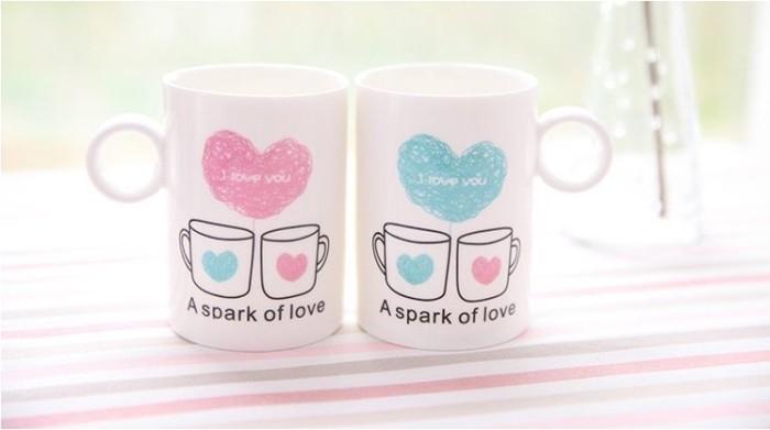I Love You Couple Coffee Mugs