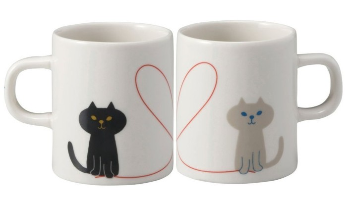 Japanese Cat Coffee Mug