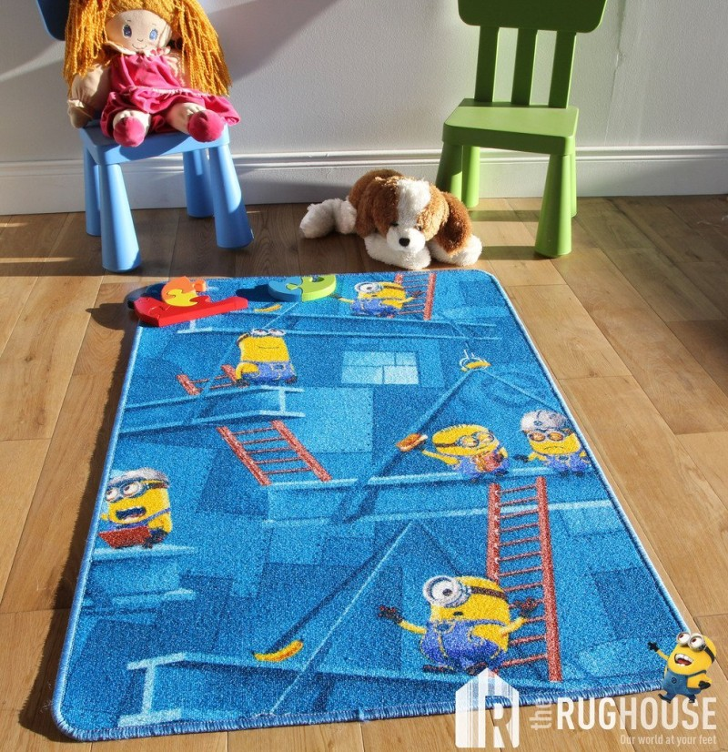 Kids Fun Minions  Area Rug & Bedroom Mats
