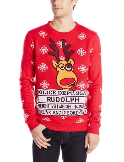 Men's Rudolph's Ugly Christmas Sweater