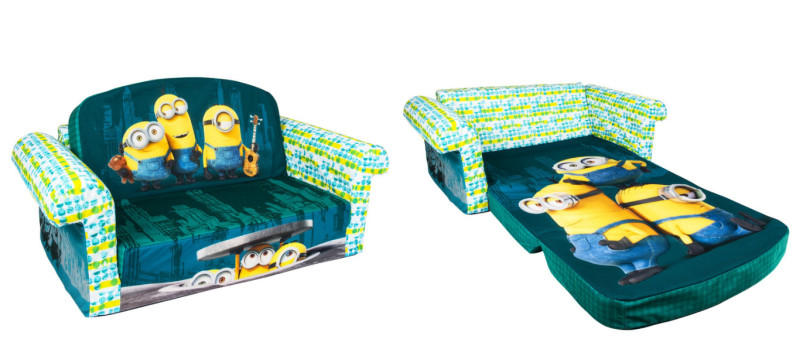 Minion Flip Open Sofa & Bed