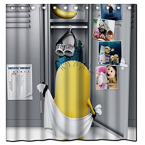 Minion Themed Shower Curtain
