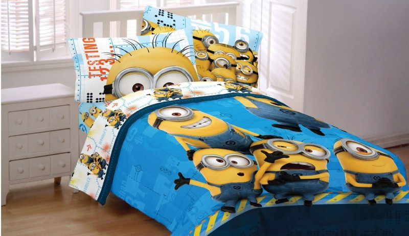 Minions Kids room Bedsheet set
