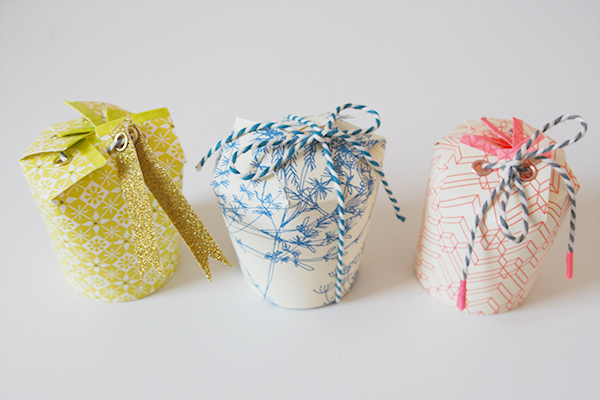 Paper Cup Gift Bags