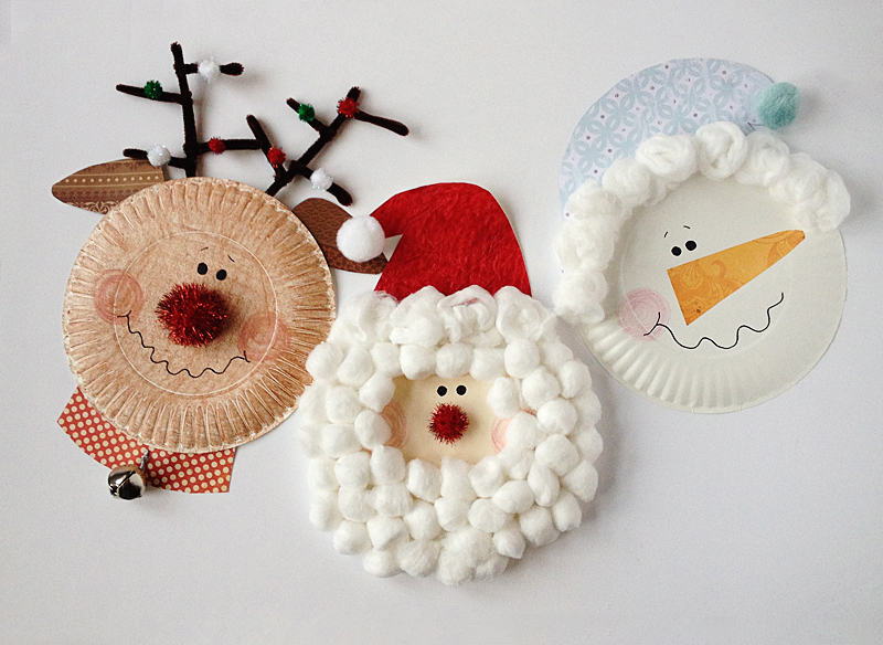 Paper Plate Christmas DIY