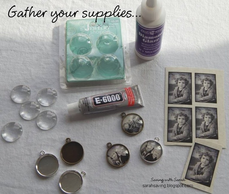 Photo Pendant Supplies
