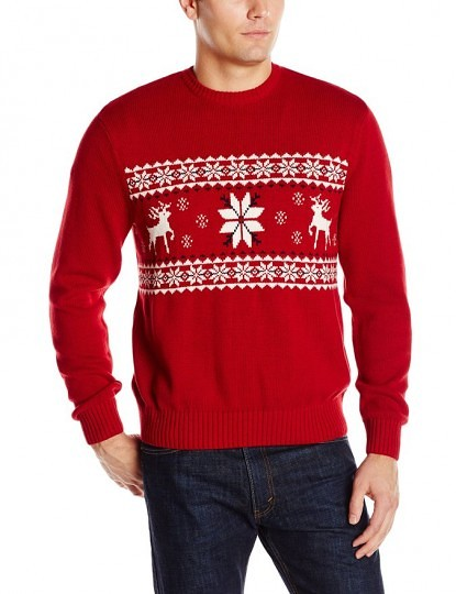 Reindeer and Snowflake Sweater