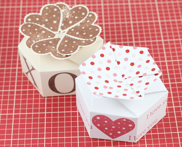 Scor-pal Petal Box for Valentine