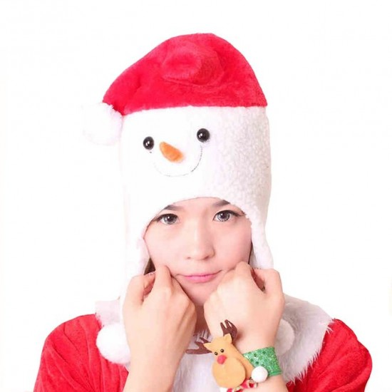 Snowman Christmas Santa Clause Hat