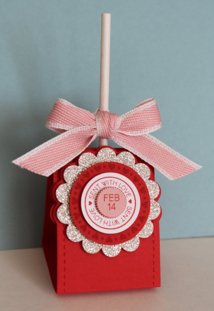 Stand-up Lollipop  Gift wrap