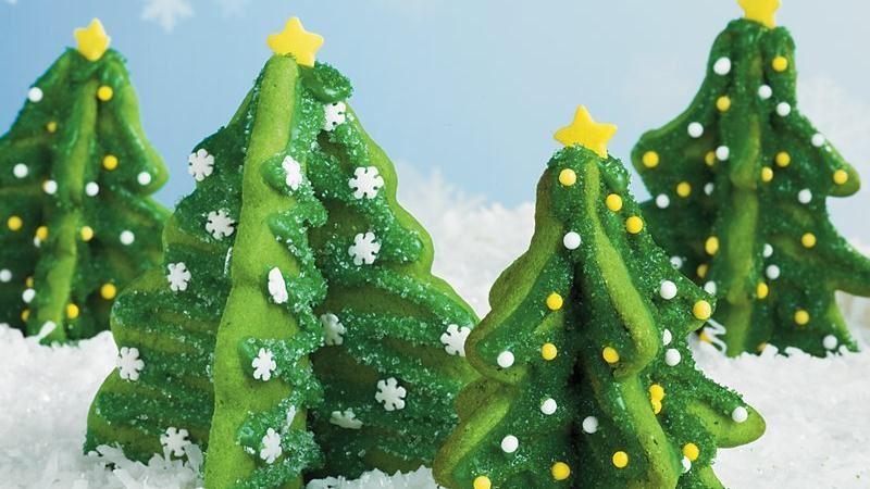 Sugar Cookie Trees