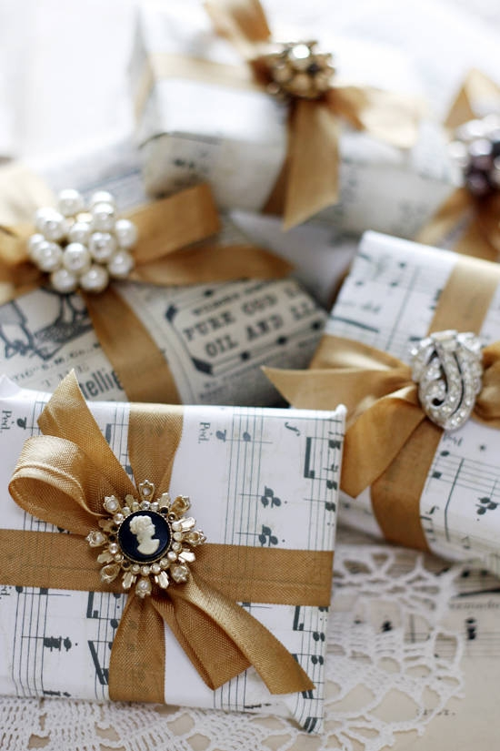 Traditional Gift Wrap