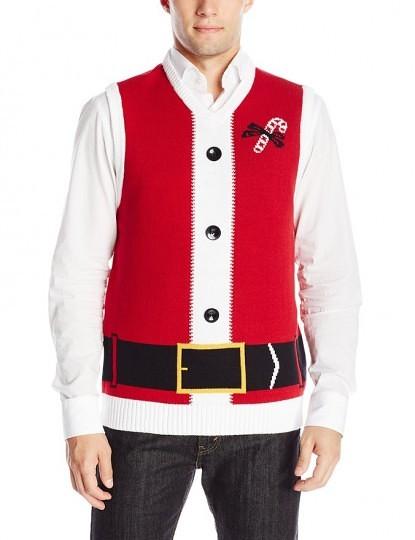 Ugly Christmas Sweater Kit Men's Santa