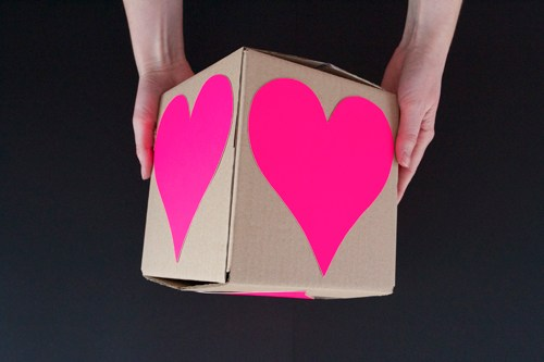 Valentine Heart Attack gift wrapping