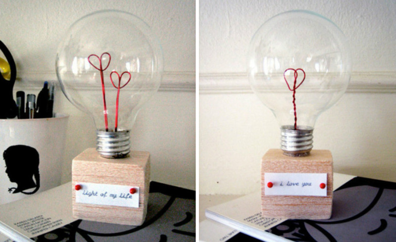 Valentine Love Lamp