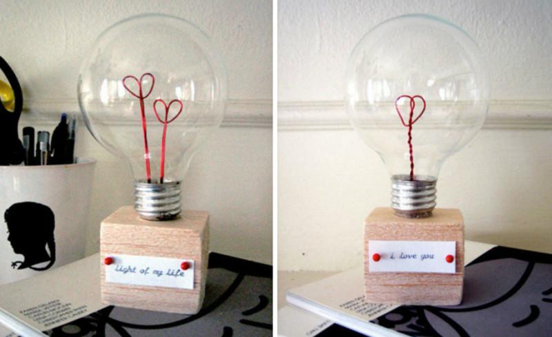 Valentine Love Lamp
