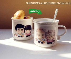 Creative 'Spending Whole Life with You' Color Changing Mug