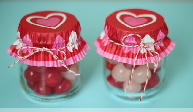 Valentines Special Food Jar