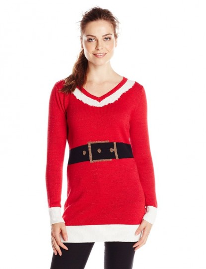 Women's Santa Suit Ugly Christmas Tunic
