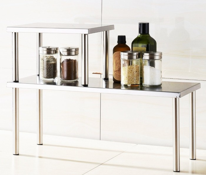 2-Tier Counter Storage Shelf