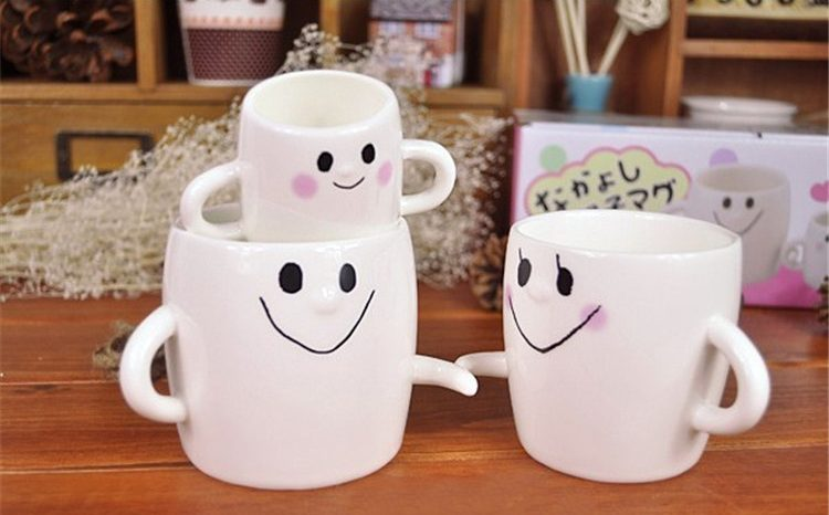 3 piece Family Mug Set