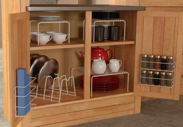 6 Piece Cabinet organizer