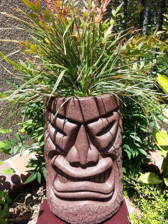 Angry Face Planter