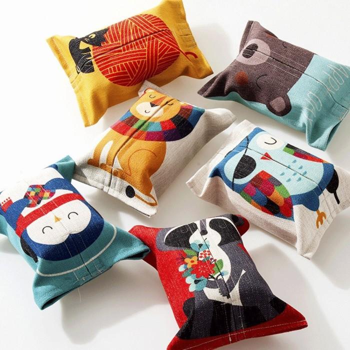 Animal Print Tissue Box