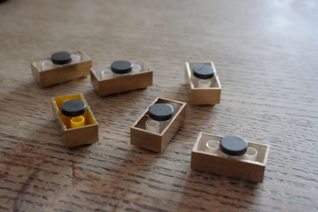 Attach Magnet to Lego Blocks