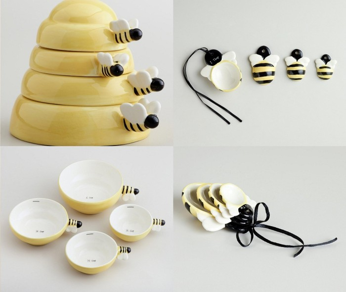 Beehive Measuring Cups and Spoons