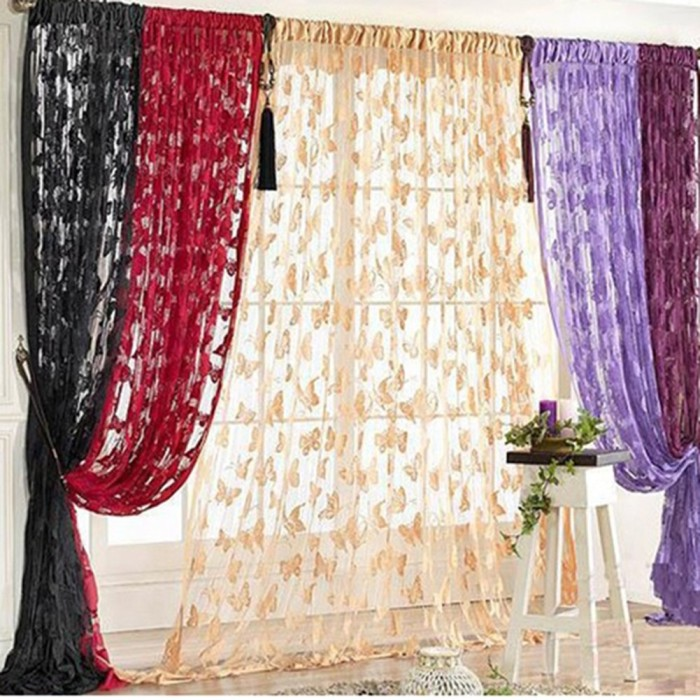 Butterfly Pattern String Door Curtain