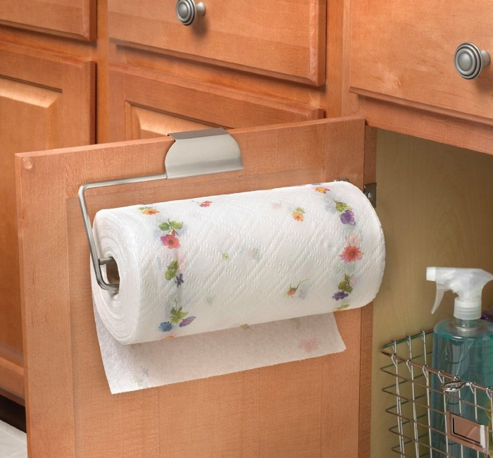 Cabinet Paper Towel Holder