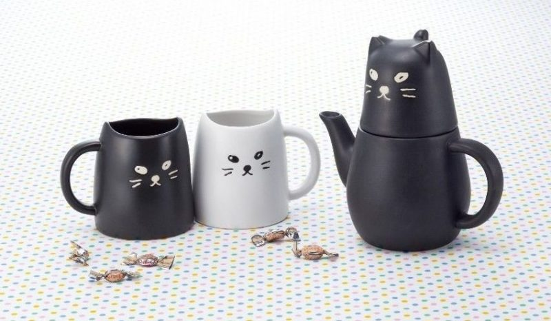 Cat Pair Mugs