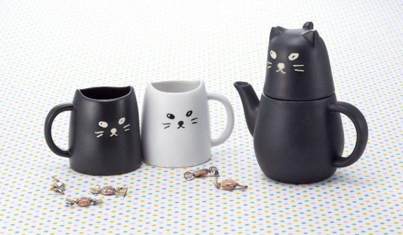 Cat Pair Mugs