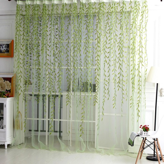 Catkins Door Curtain Panel