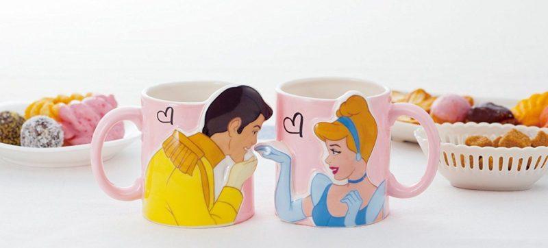 Cinderella Kiss Pair Mugs