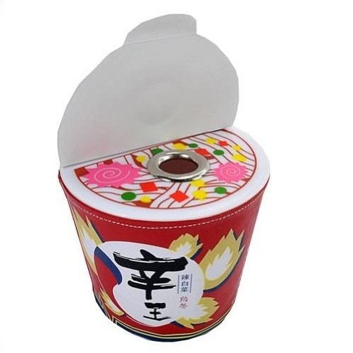 Creative Instant Noodles Tissue Box