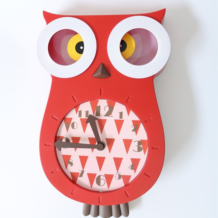 Creative Owl Wall Clock