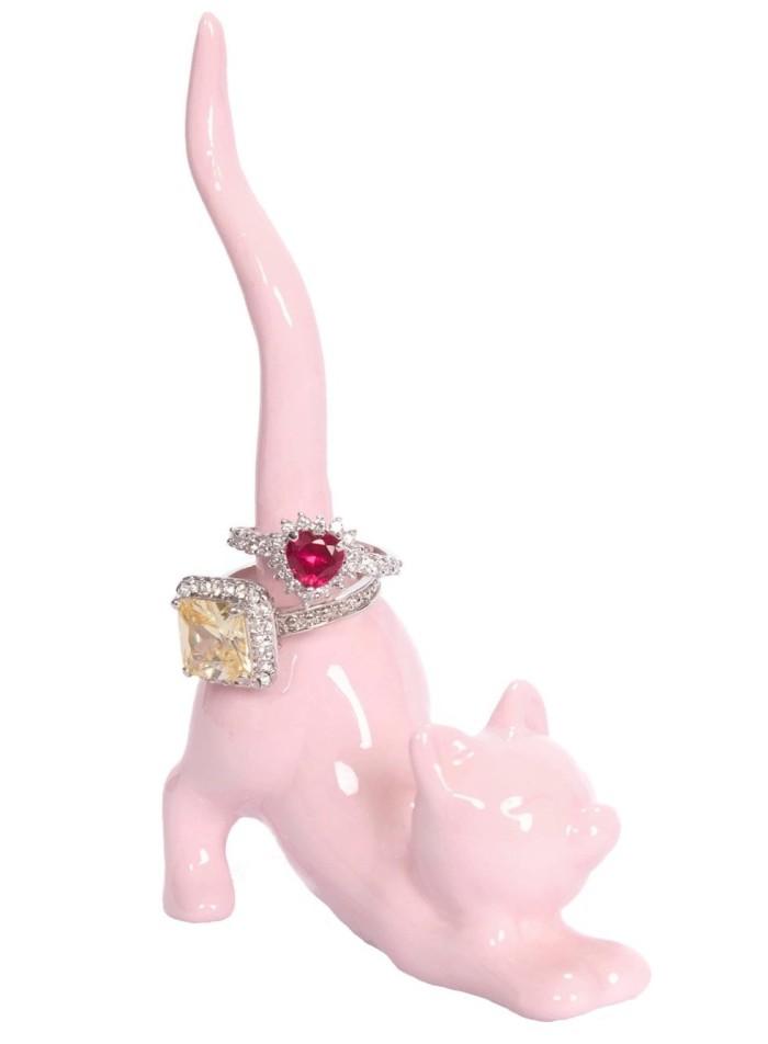 Cute Ceramic Ring Holder