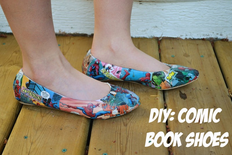 DIY Recycle Old Shoes