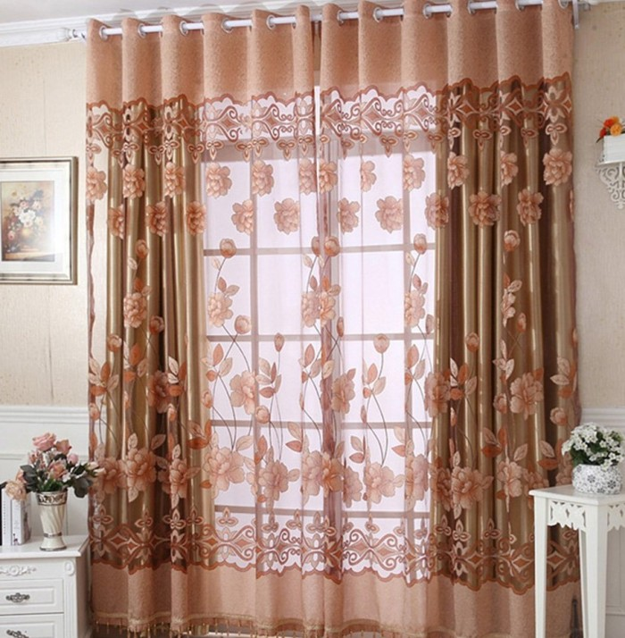 Decorative Tulle Voile Room Curtain