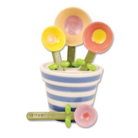 Flower Pot Measuring Spoon Set