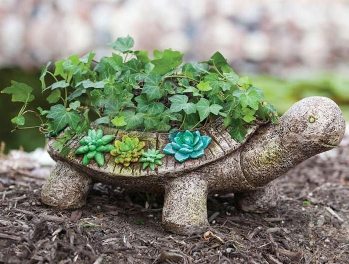 Garden Turtle Planter