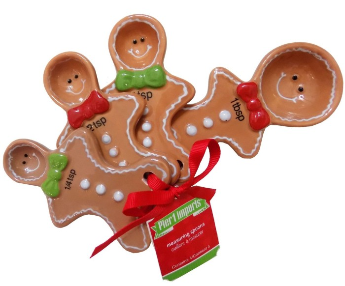 Gingerbread Measuring Spoon Set